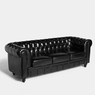 Black Chester sofa | Crimons