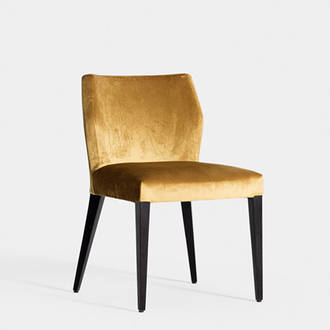 Gold armchair | Crimons