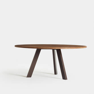 Round Rustic Table | Crimons