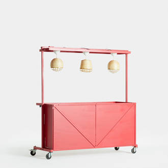 Kiosco Industrial Rojo | Crimons