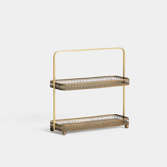 Golden royal Tray 2 Levels | Crimons