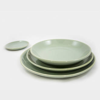 Green Siena Crockery | Crimons