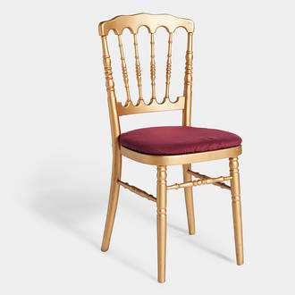 Gold Napoleón chair | Crimons