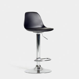 Black Adjustable Stool | Crimons