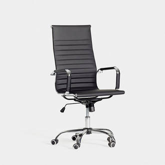 Black Office Armchair | Crimons