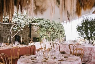 Fall Wedding ideas. Covid  | Crimons